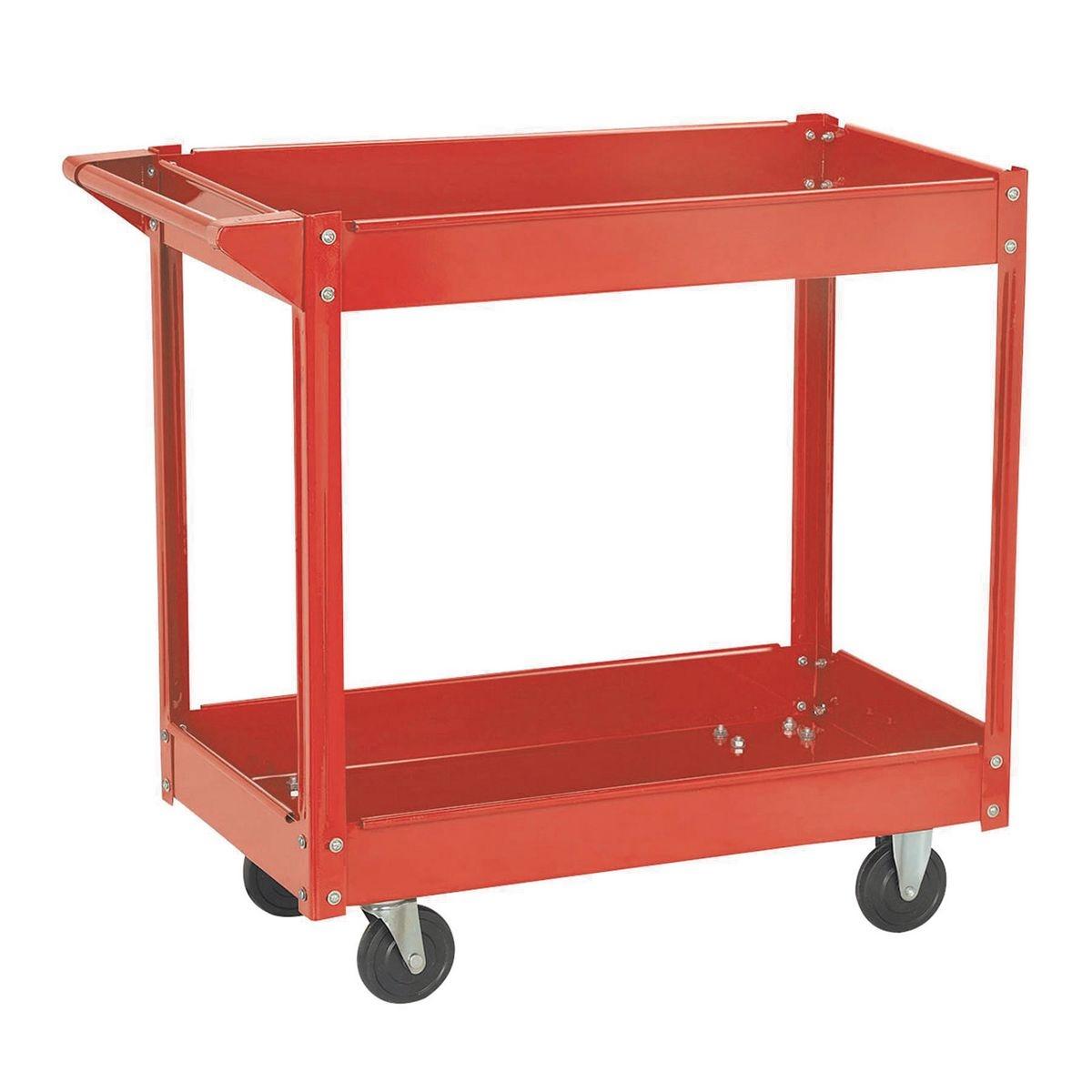 Steel Service Cart 16 X 30