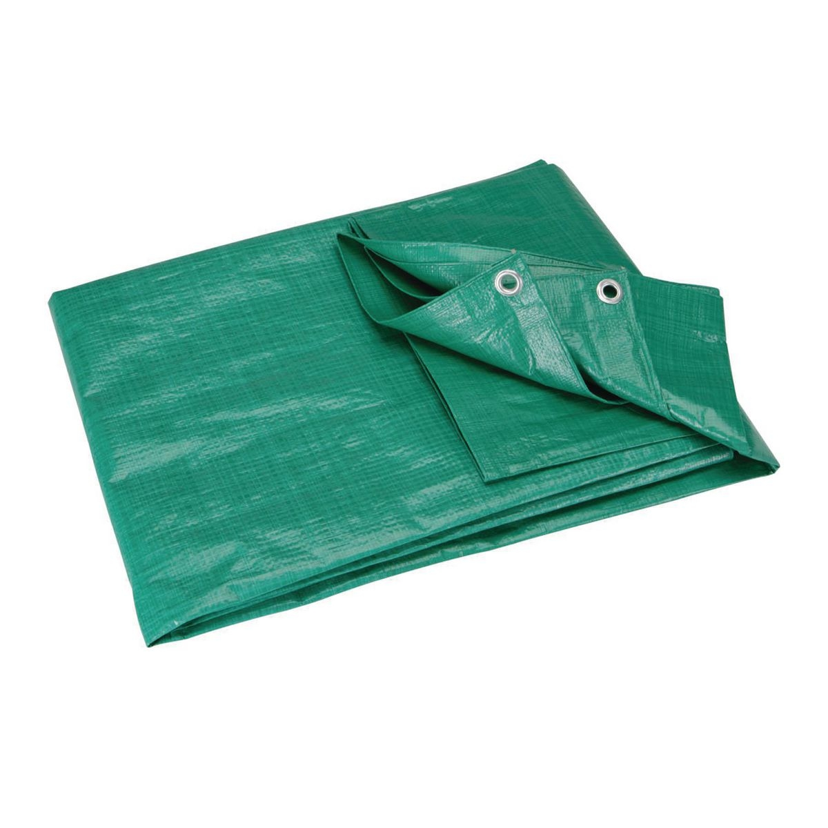 db955fd6bb3259 5 ft. 6 in. x 7 ft. 6 in. Green Farm All Purpose Weather Resistant Tarp