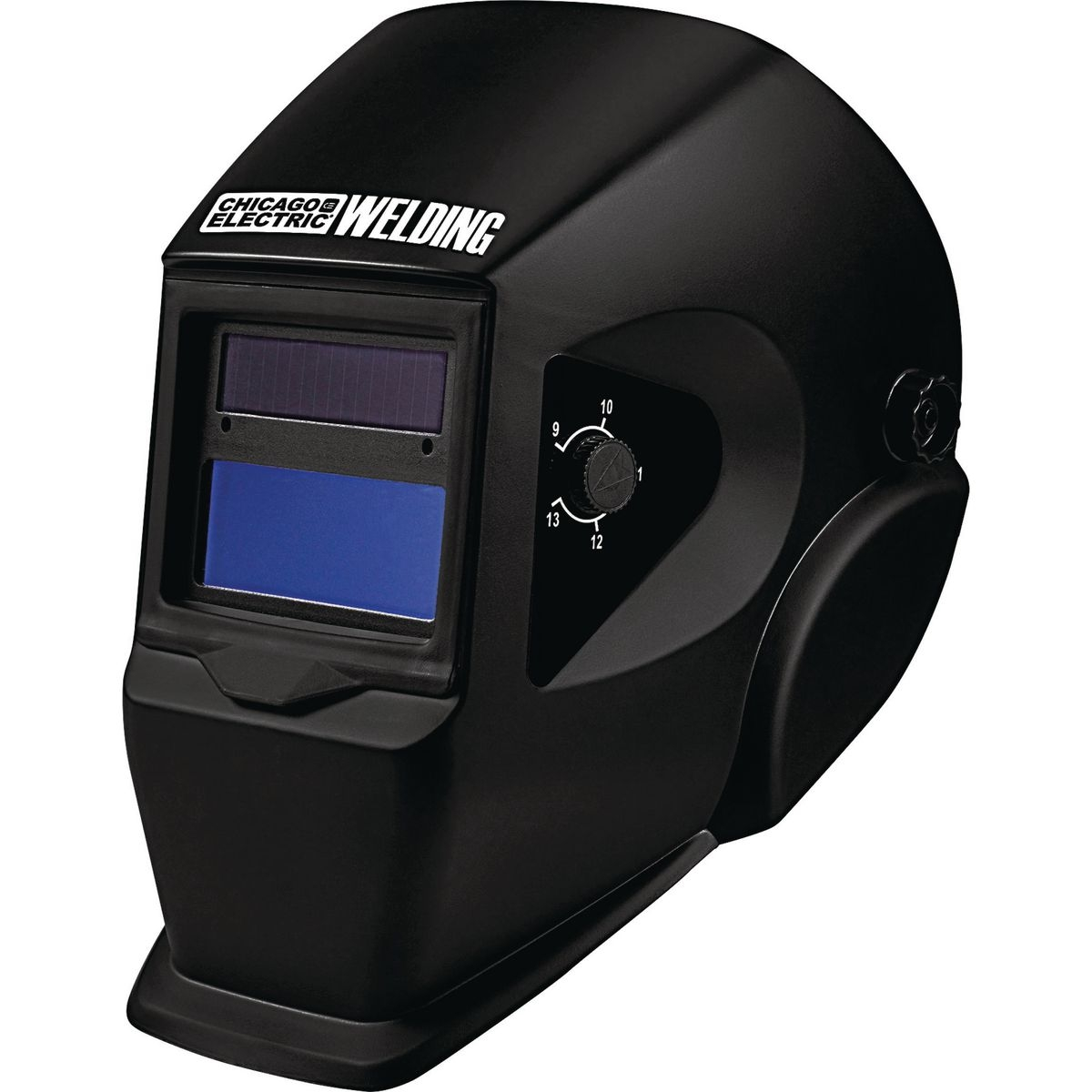 Welding helmet adjustable shade auto darkening