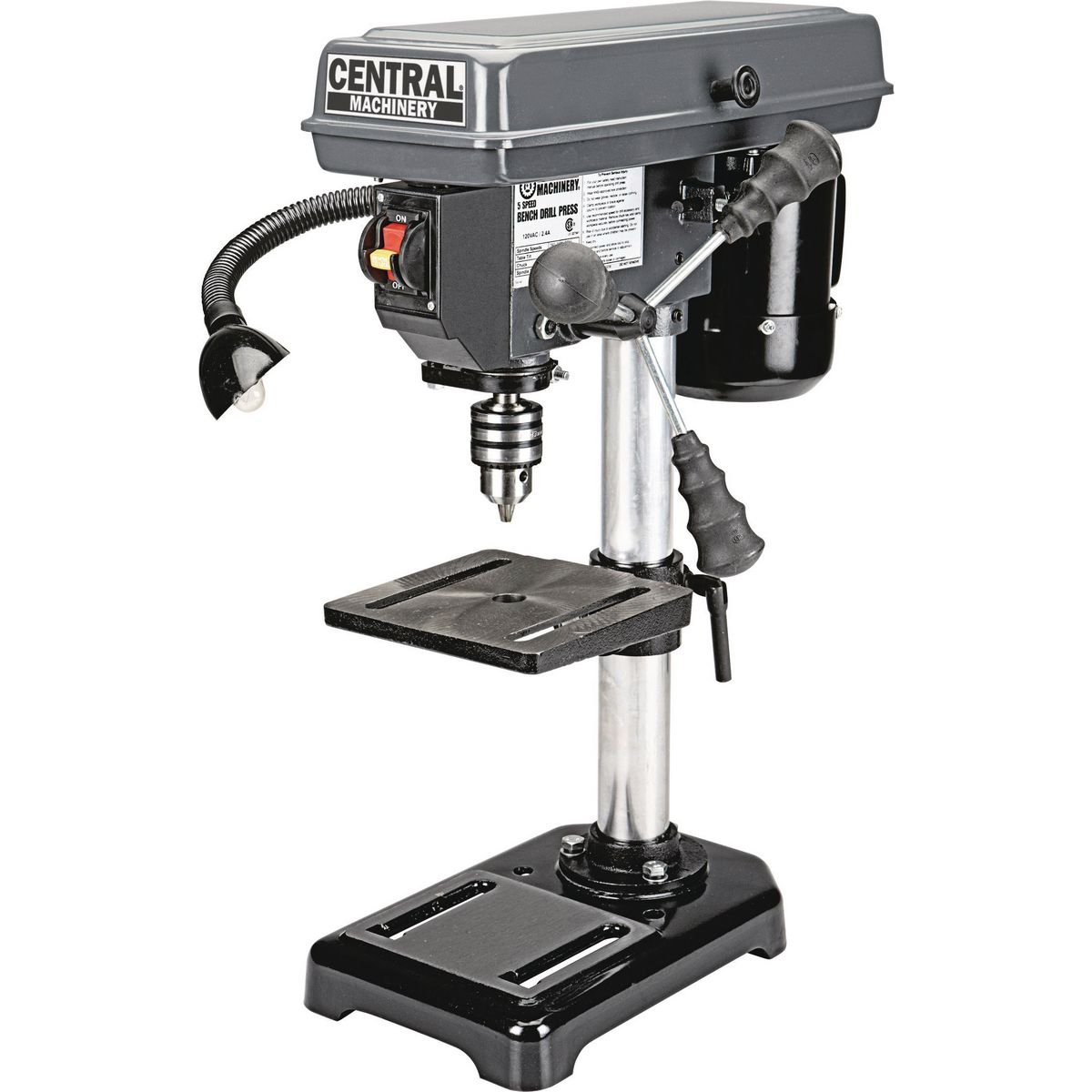 8 in 5 speed bench drill press