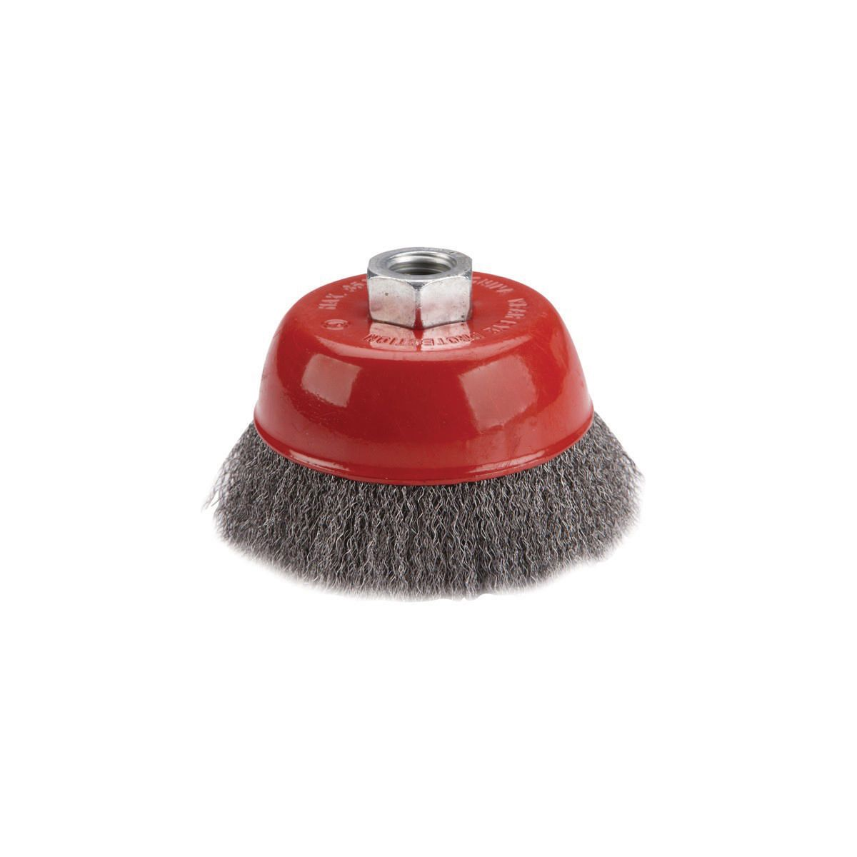 4 in. Crimped Wire Cup Brush