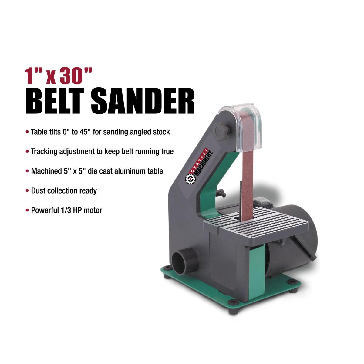 Knife belt sander canada