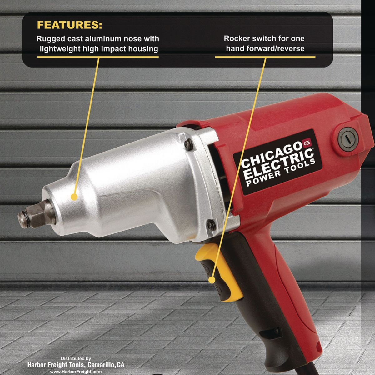 Heavy Duty Electric Impact Wrench