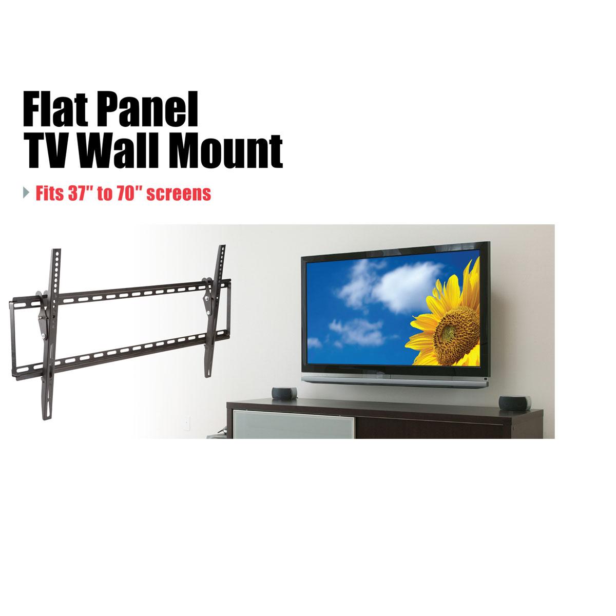 Large Tilt Flat Panel Tv Mount Wiring Up Wall Mounted