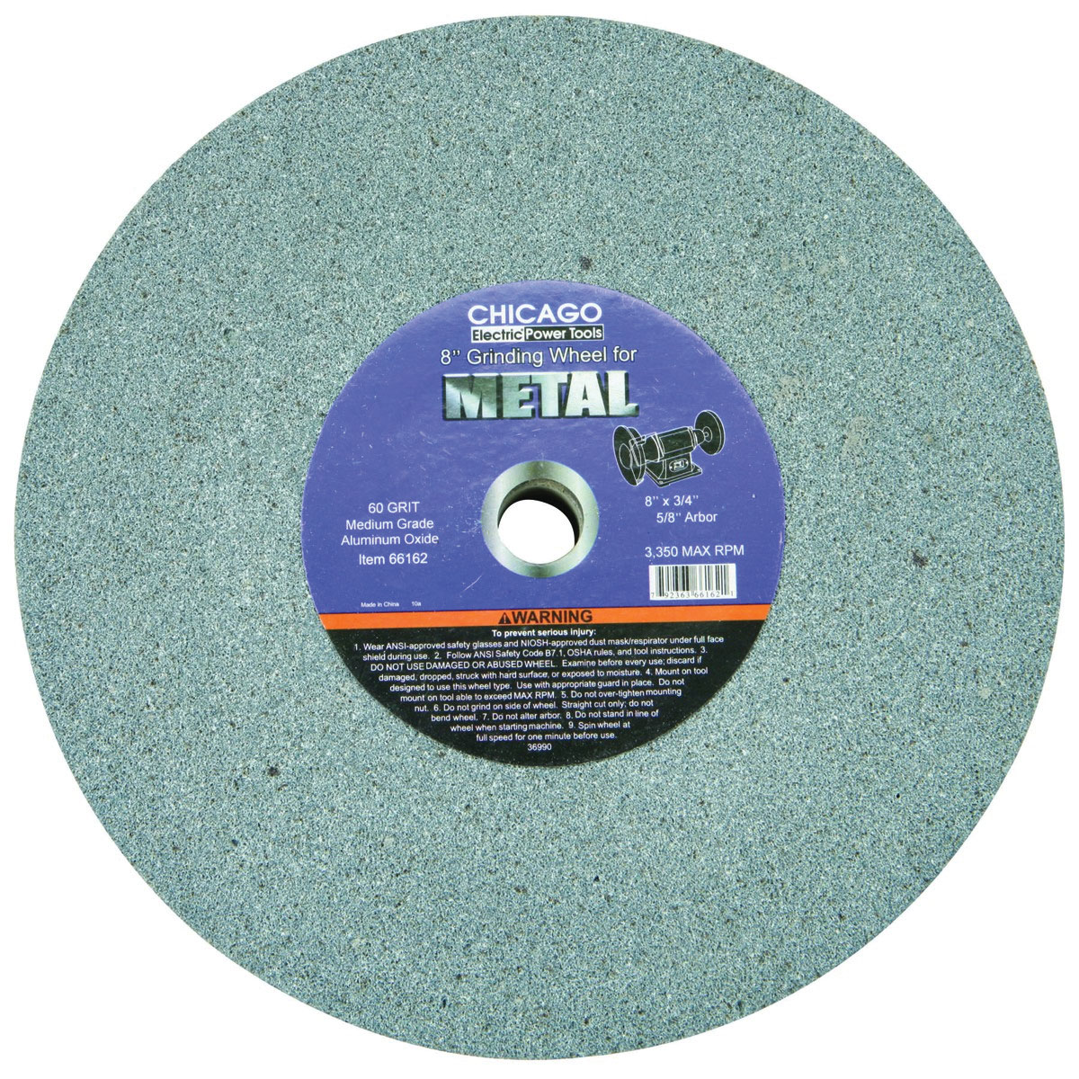 8 In General Purpose Bench Grinding Wheel