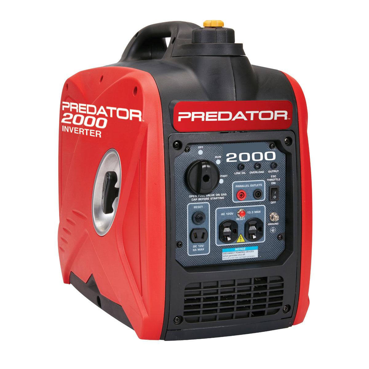 Generator: 2000 Watt Super Quiet Inverter Generator