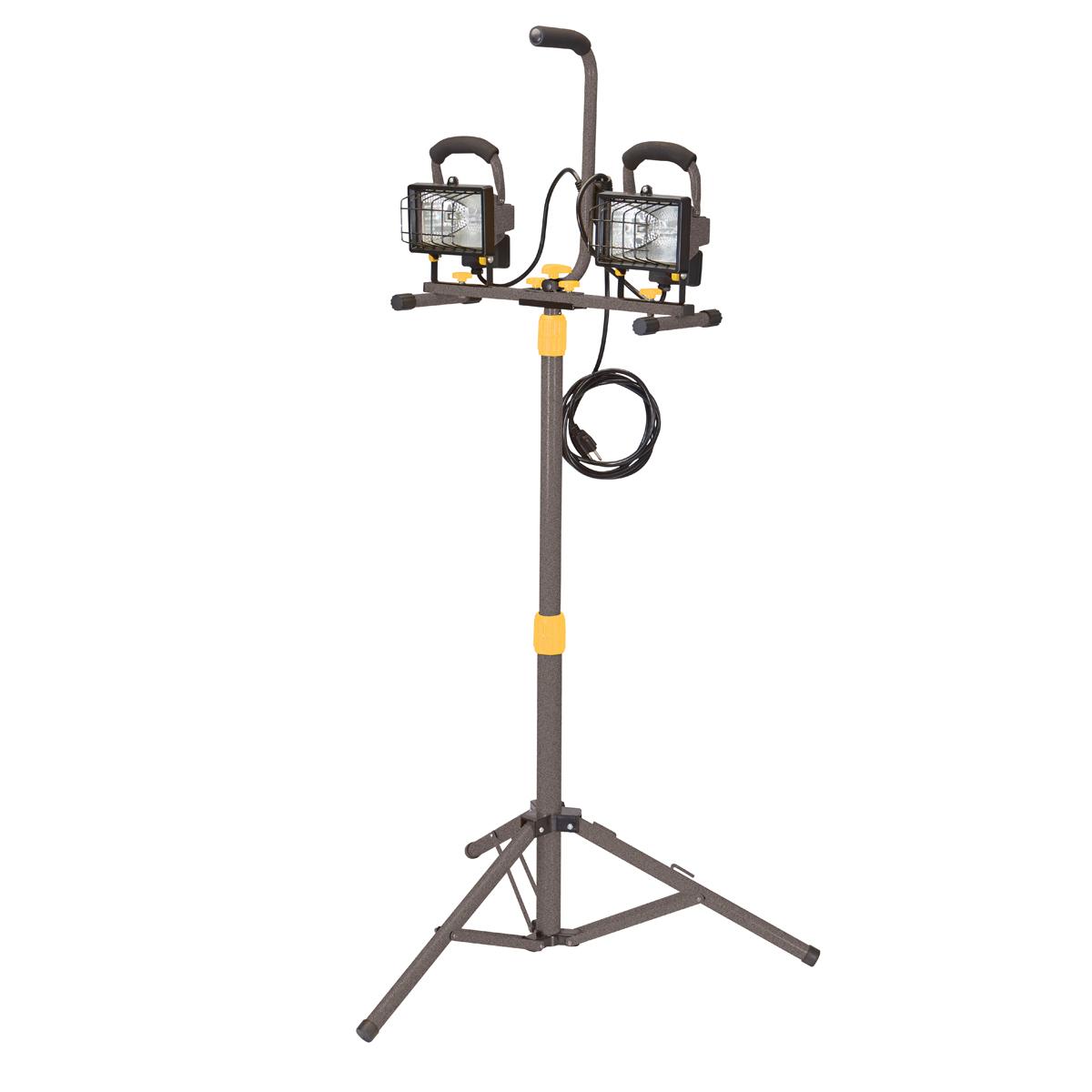 Detachable Dual Head Halogen Shop Light