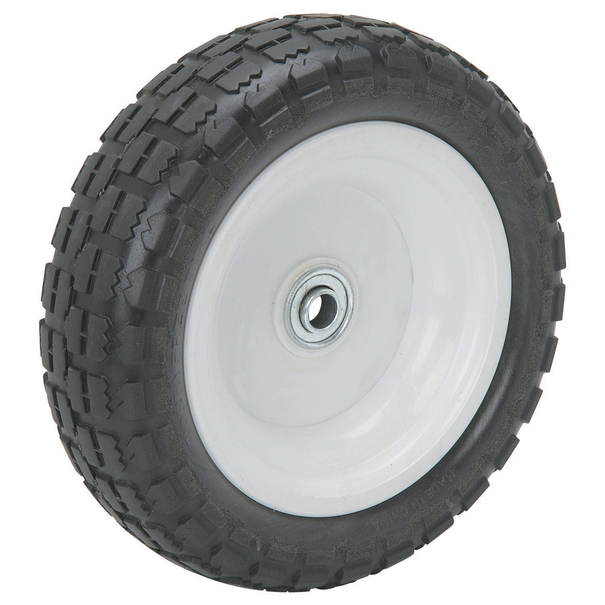 10 In Worry Free Tire With Polyurethane Hub