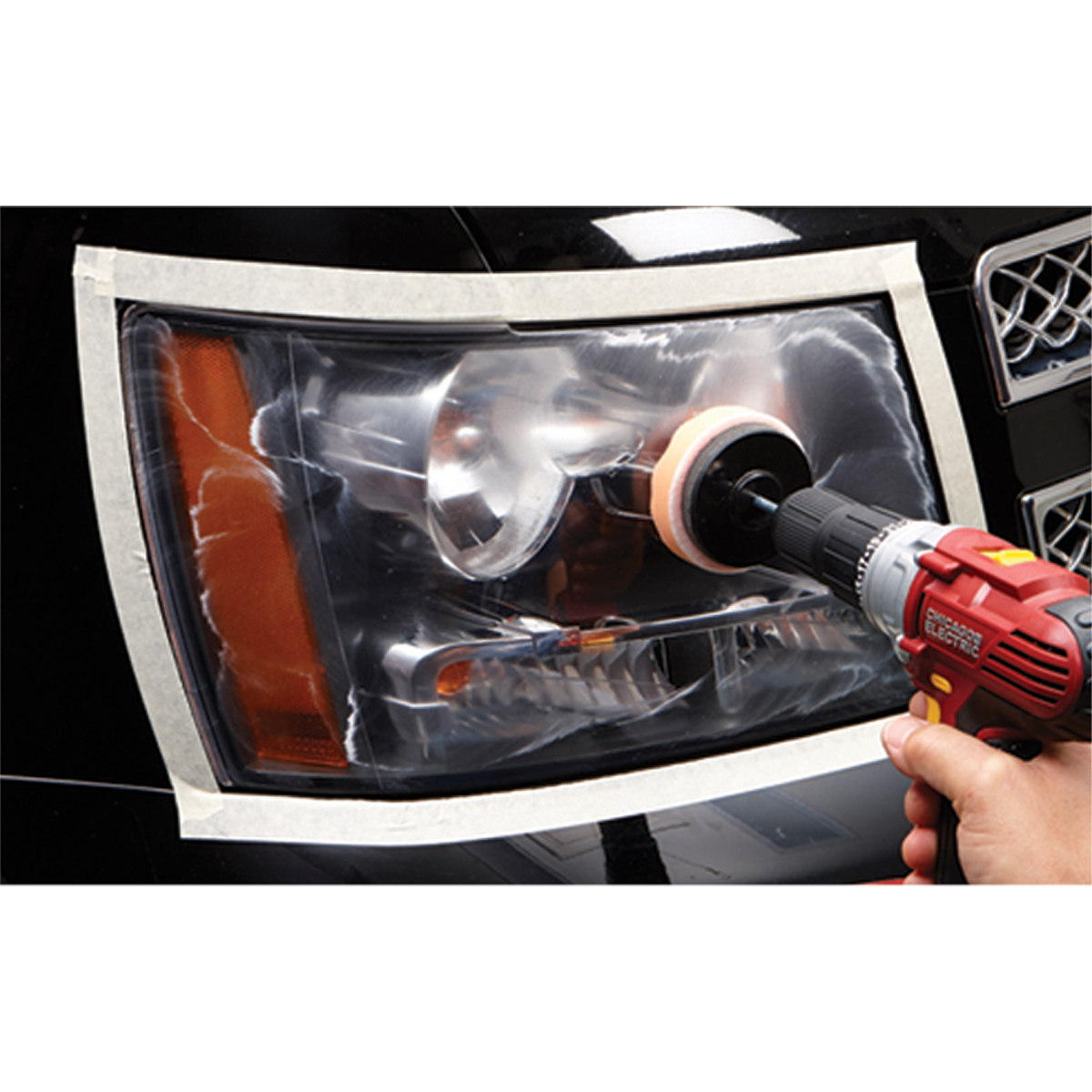 Deluxe lens renewal system - Car interior plastic scratch remover ...