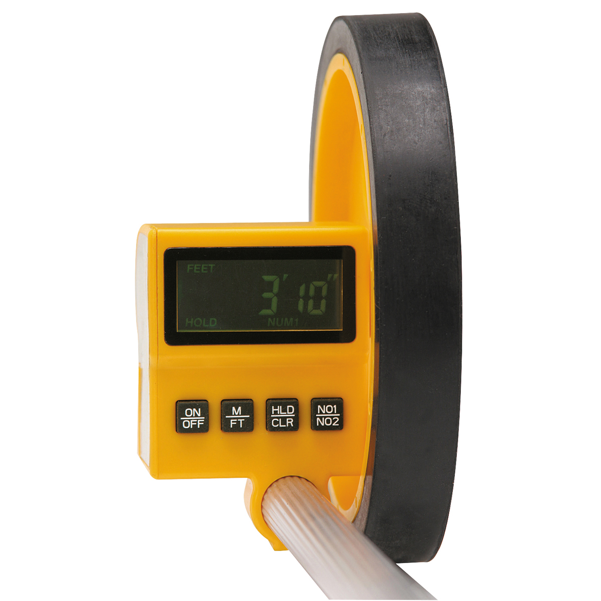 Electronic Measuring Devices Measure : Ft meter digital measuring wheel