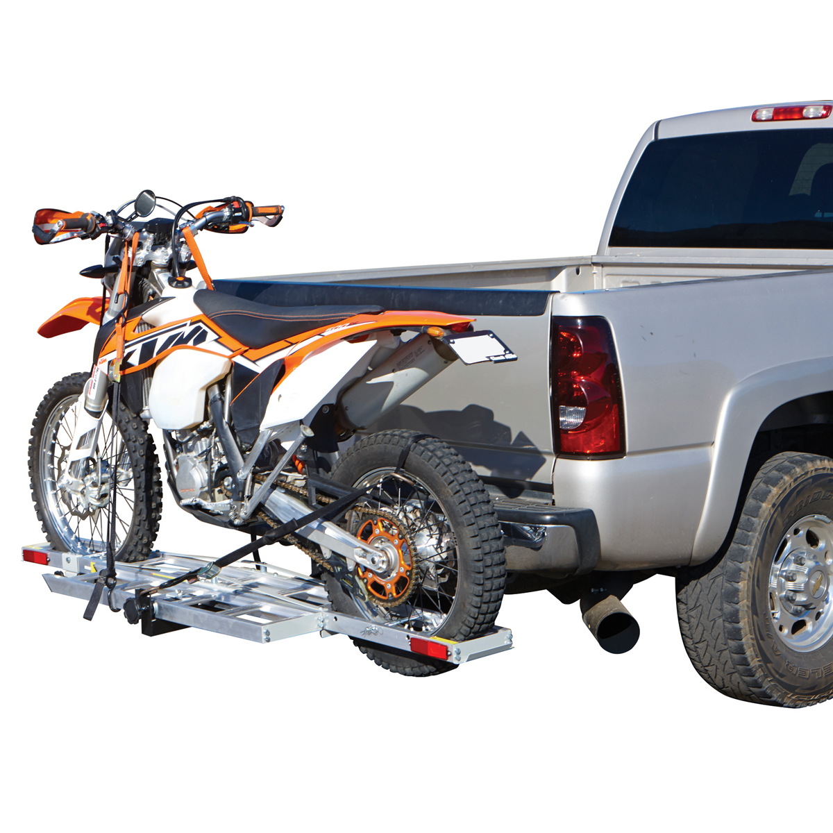 400 Lbs Receiver Mount Motorcycle Carrier