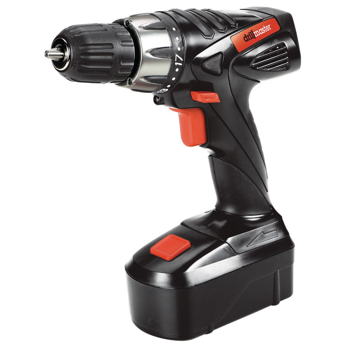 18 Volt 3/8 in. Cordless Drill/Driver Kit With Keyless ...
