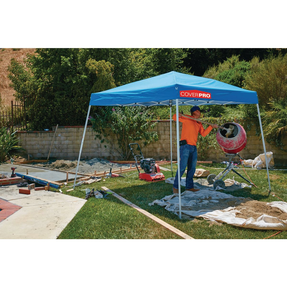 Pop-Up Canopy - 10 Ft. X 10 Ft. Pop-Up Canopy