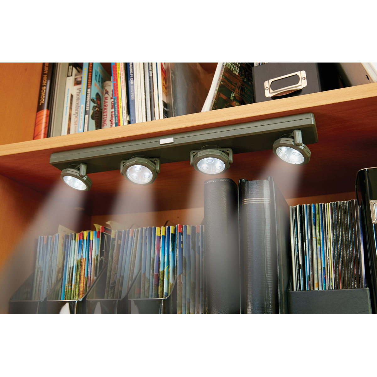 Under Counter Lighting Troubleshooting: Four Head, LED Under-Cabinet Light