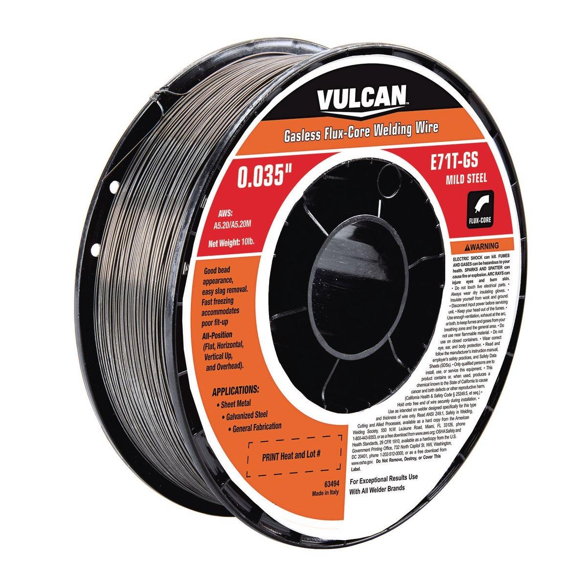 Flux Core Welding Wire >> 0.035 in. E71T-GS Flux Core Welding Wire, 10.00 lbs. Roll