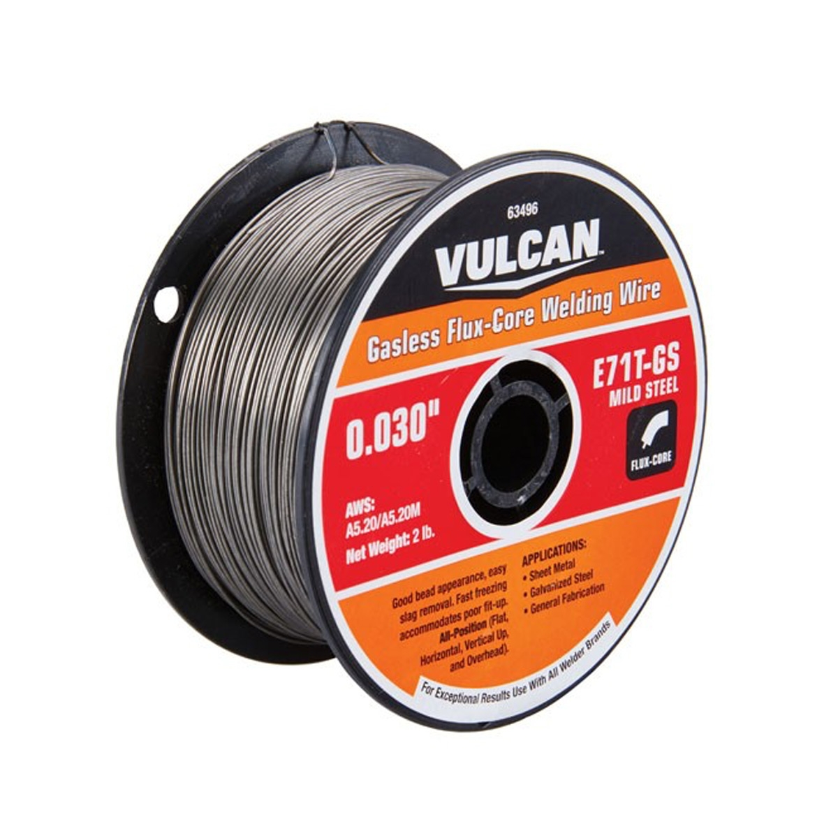 Welding Wires | 0 030 In E71t Gs Flux Core Welding Wire 2 00 Lbs Roll