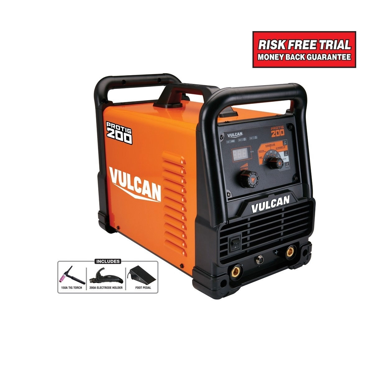 Protig 200 Industrial Welder With 120 240 Volt Input Tig Welding Machine Diagram