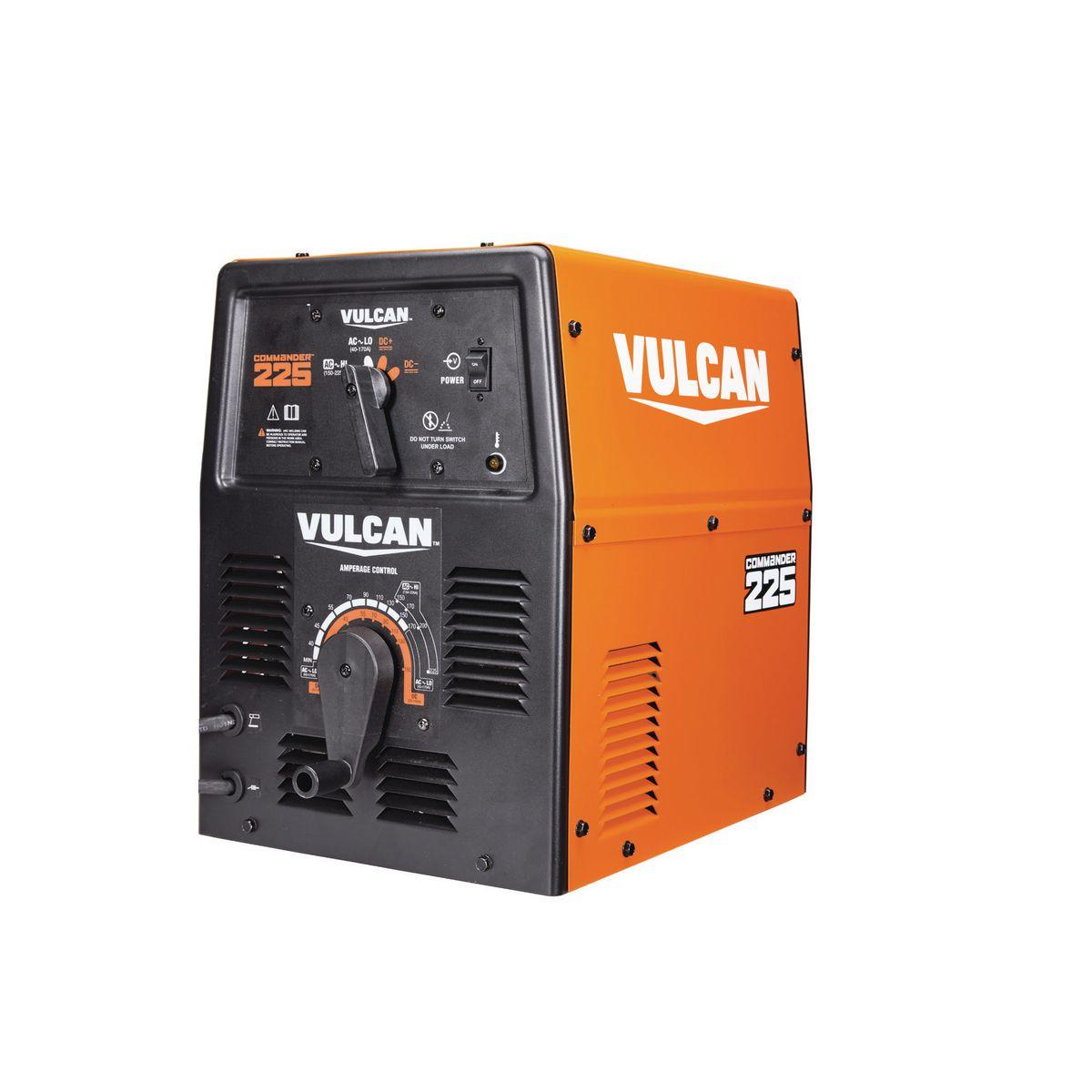 Commander Stick Industrial Welder 225a Ac 150a Dc 230 Volt Input Welding Machine Diagram