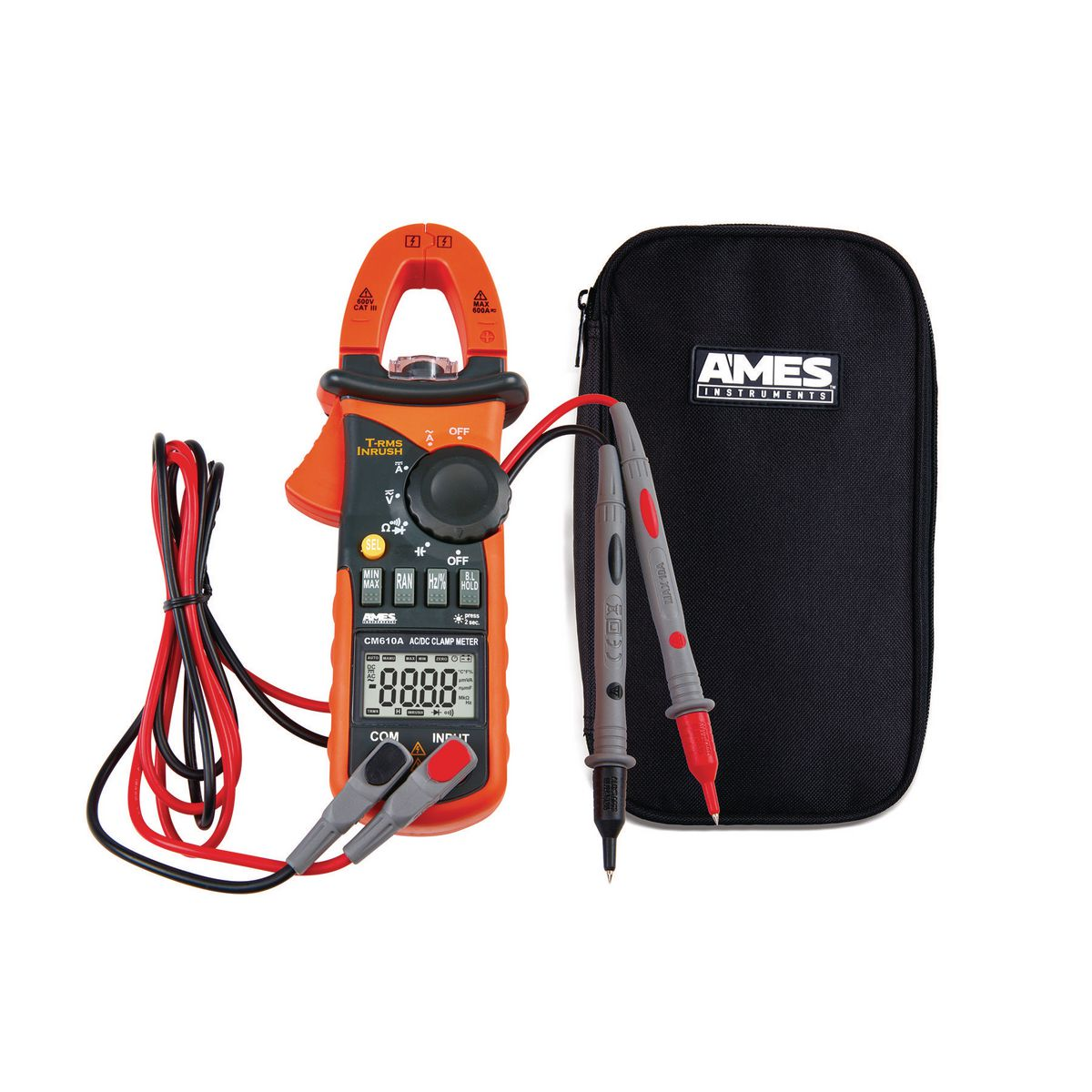 Dc Clamp Harbor Freight : A t rms ac dc clamp meter