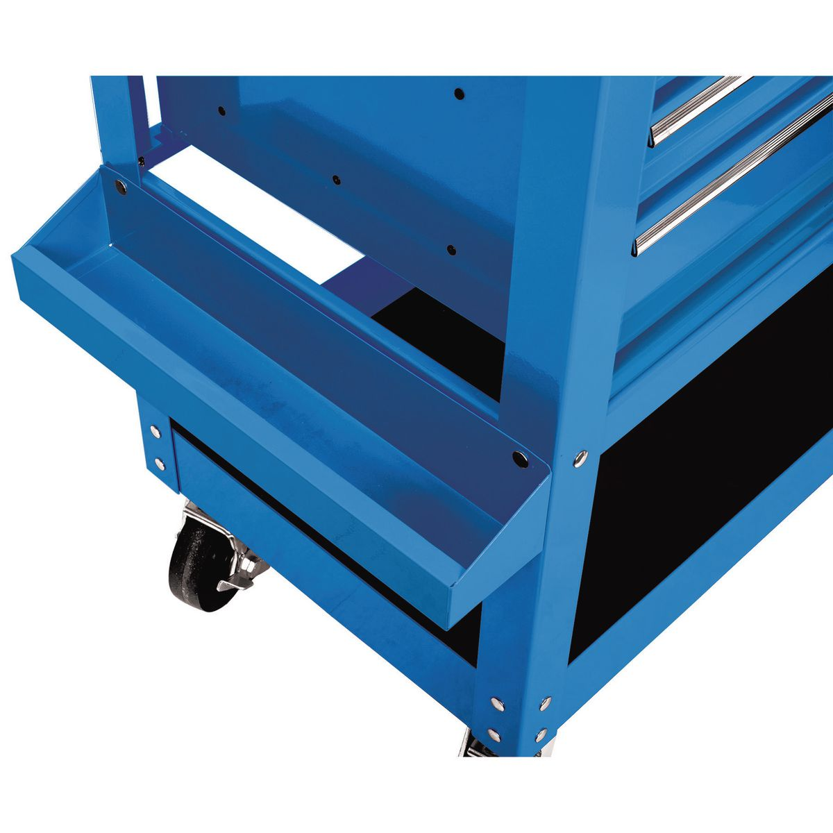 30 in  5 drawer blue mechanic u0026 39 s cart