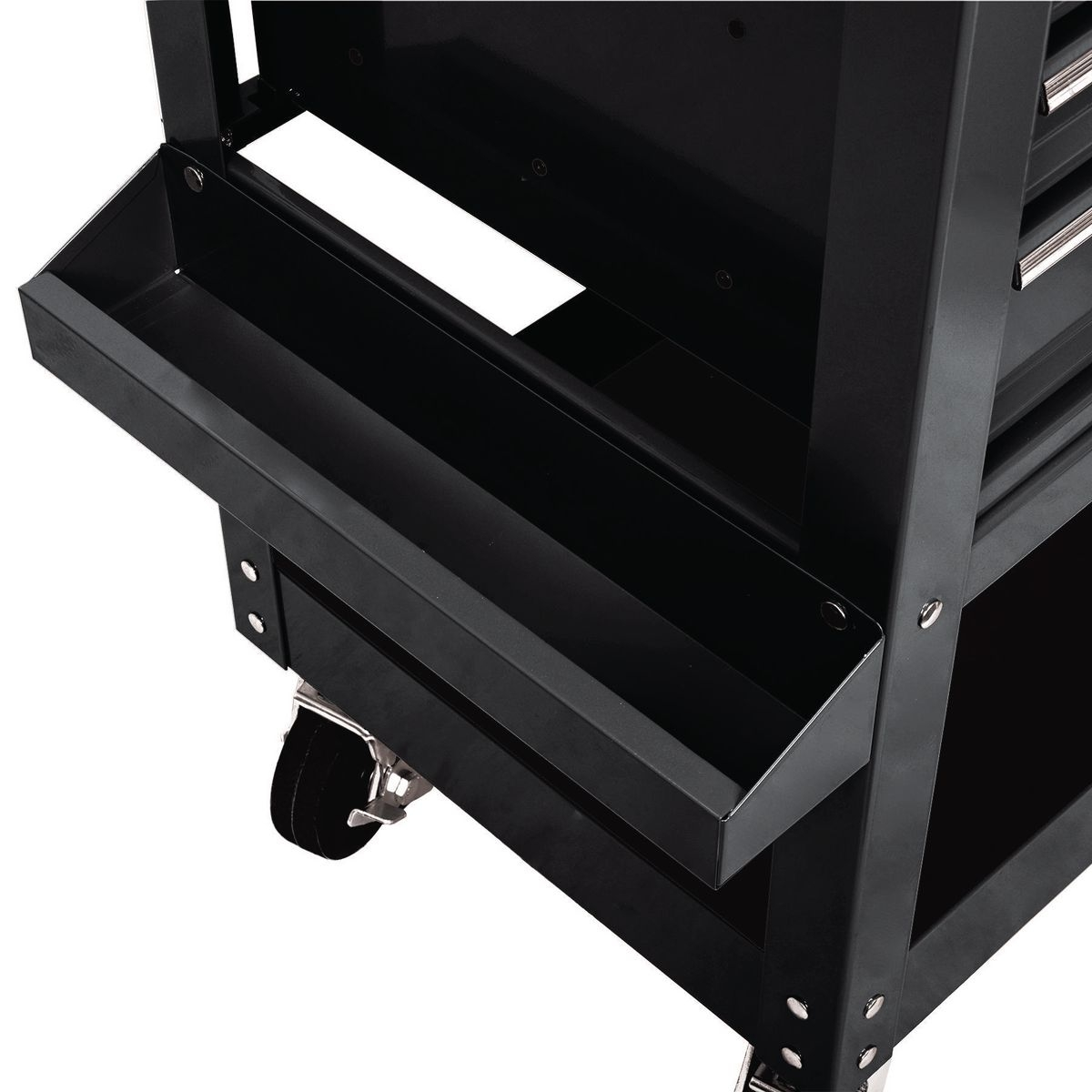Mail Order Kitchen Cabinets: 30 In. 5 Drawer Black Mechanic's Cart