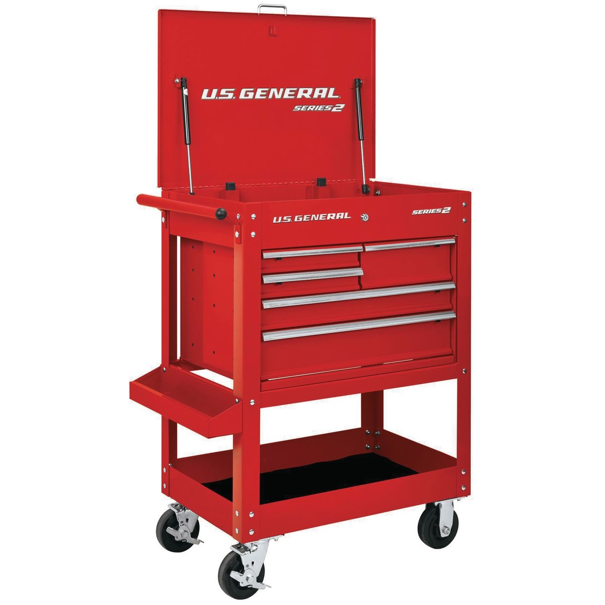 Harbor Freight 5 Drawer Tool Cart : In drawer red mechanic s cart