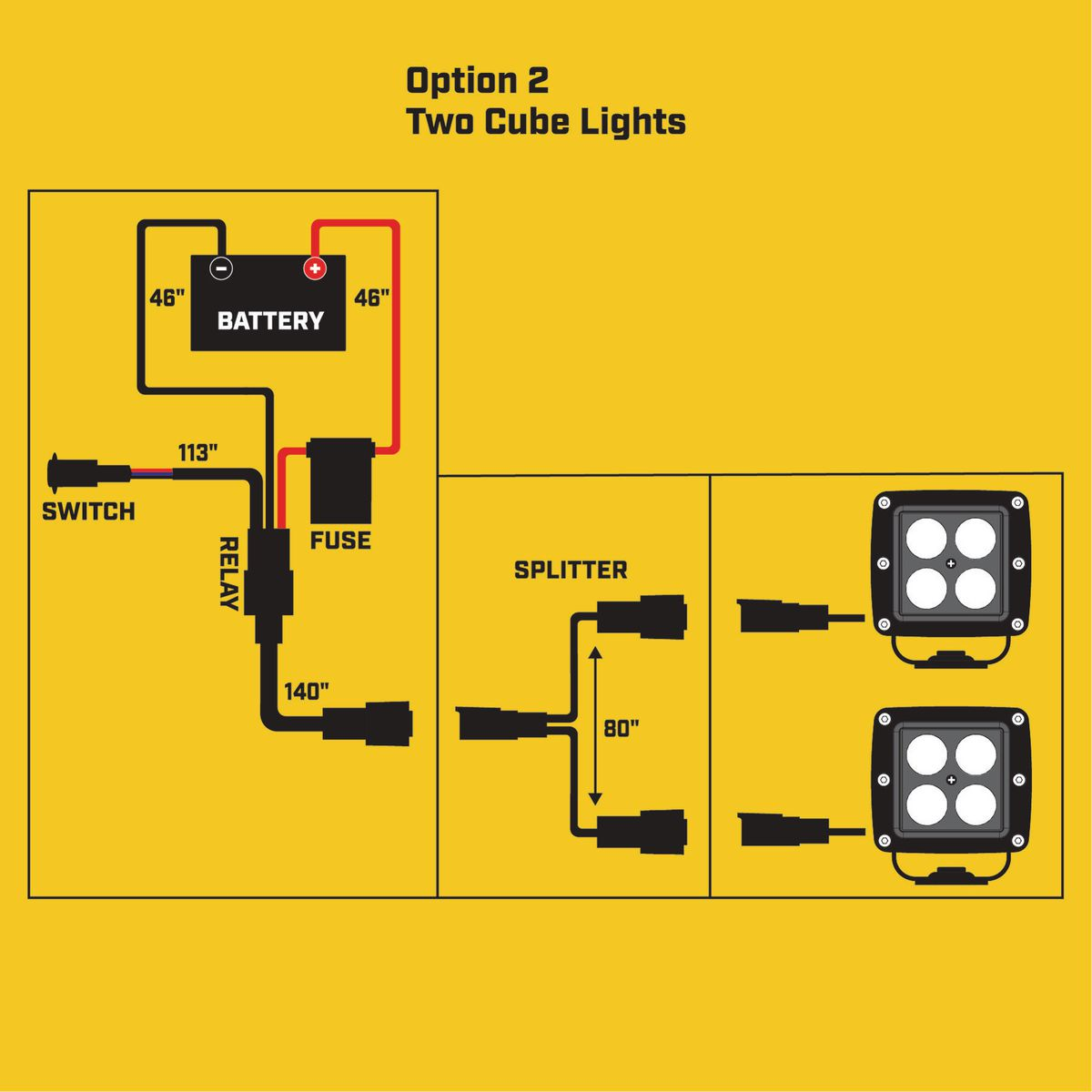 Light Bar Wiring Kit