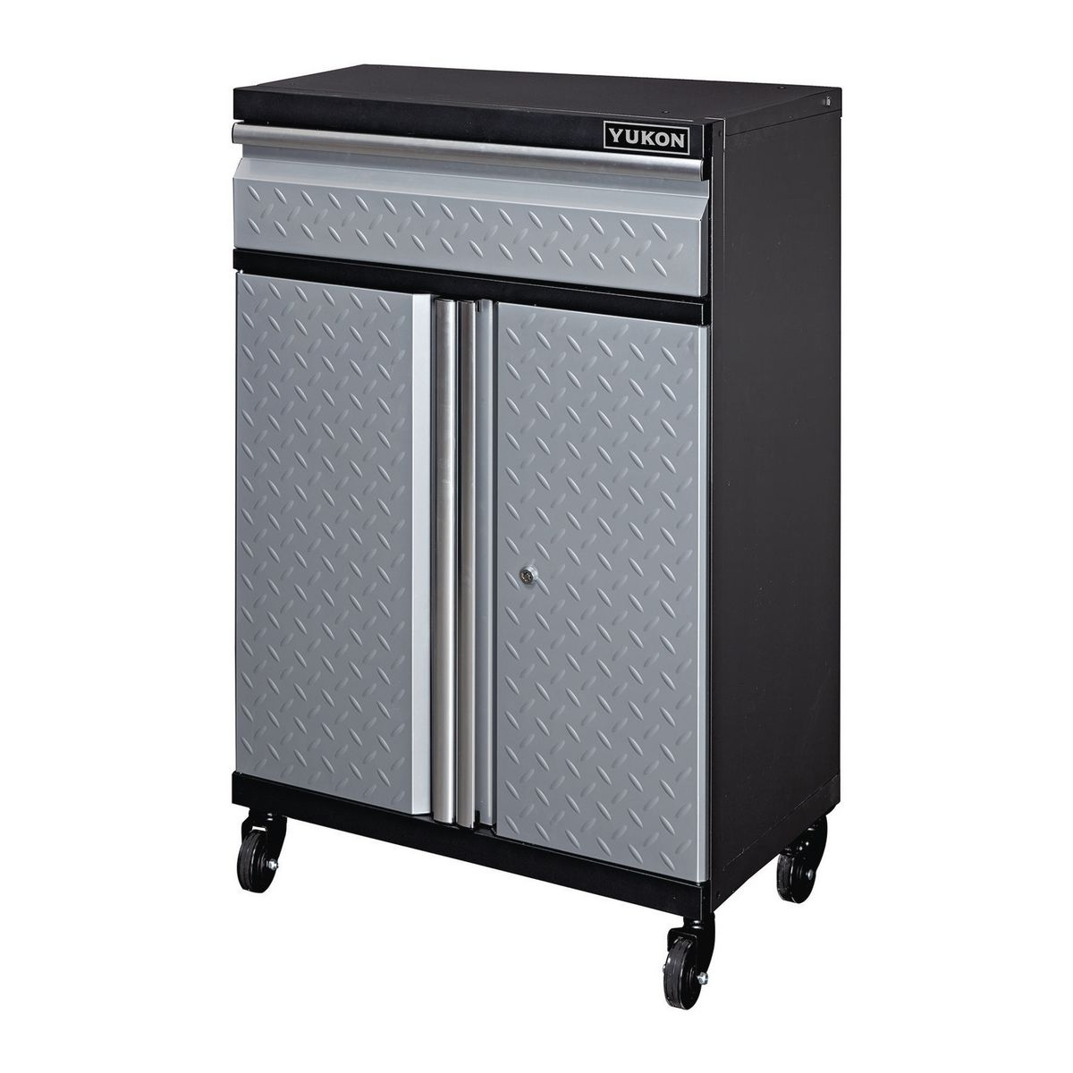 27 In Garage Cabinet 1 Drawer With Casters