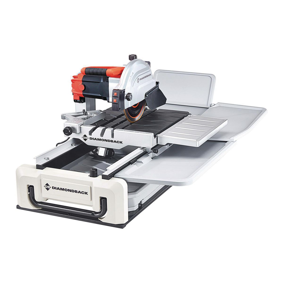 10 In 2 4 Hp Heavy Duty Wet Tile Saw With Sliding Table