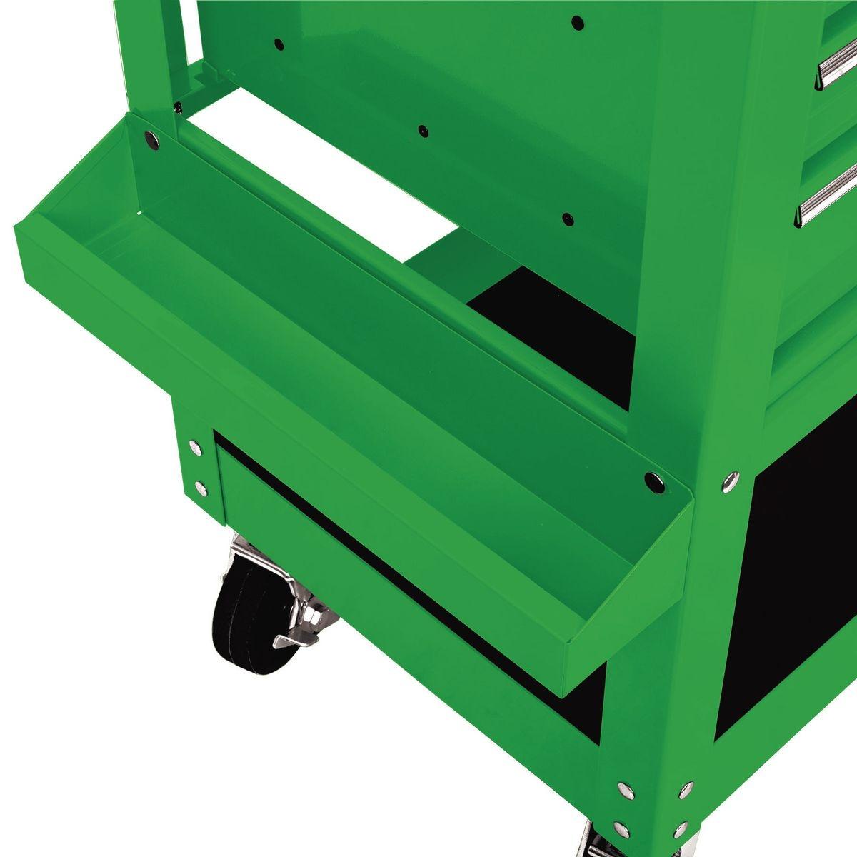 30 In 5 Drawer Green Mechanic S Cart