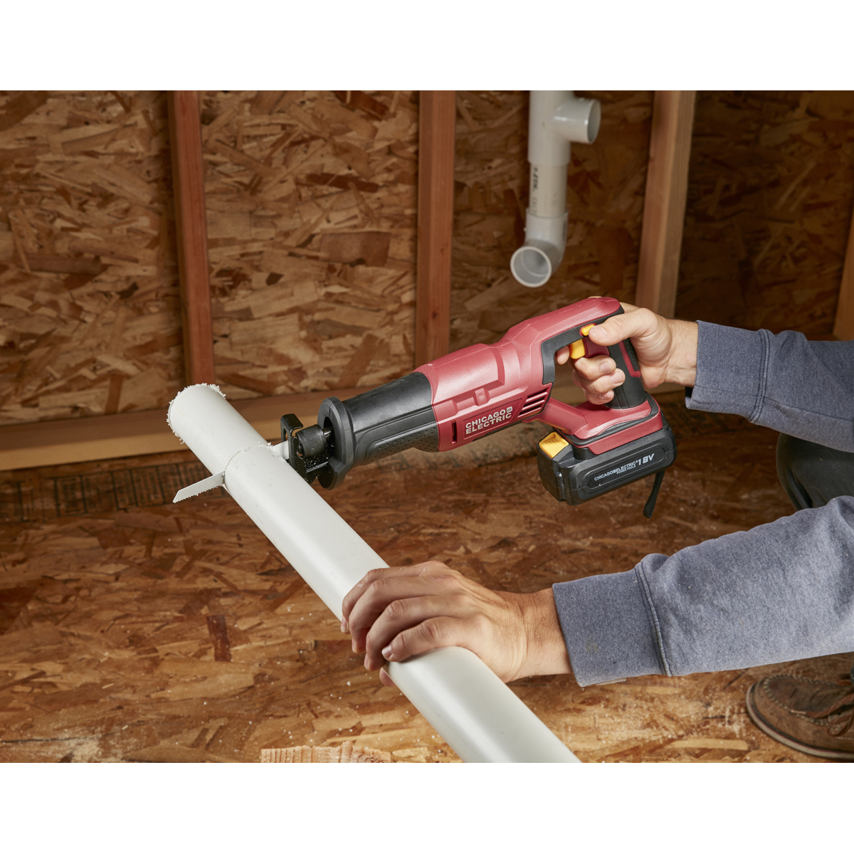 Nearest Battery Store >> 18 Volt Cordless Variable Speed Reciprocating Saw with ...