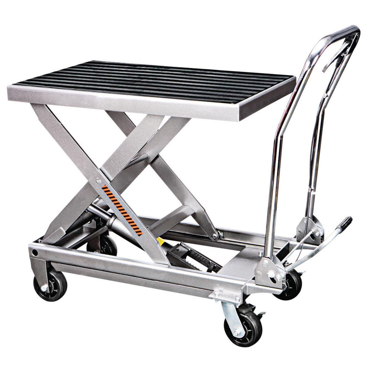 Capacity Hydraulic Table Cart