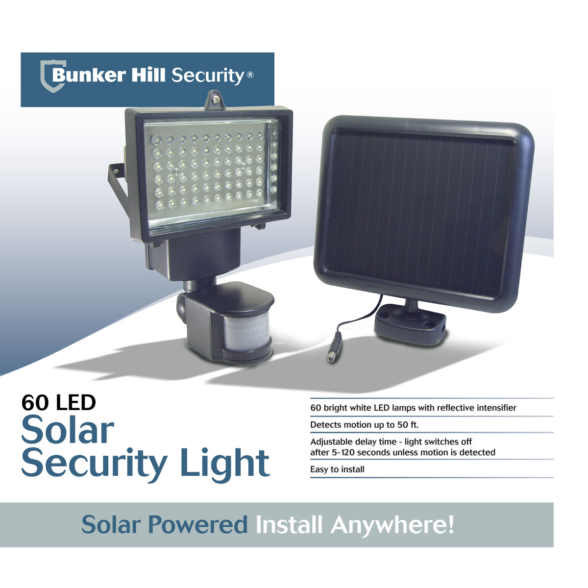 Outdoor Security Lighting 60 led solar security light workwithnaturefo