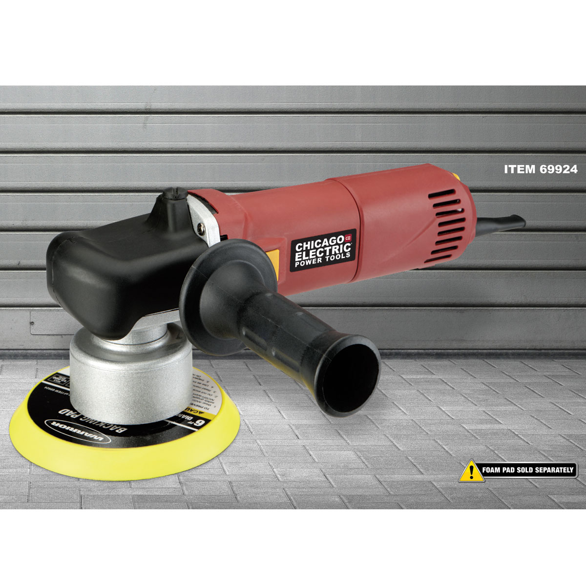 Harbor Freight Catalog : In amp heavy duty dual action variable speed polisher