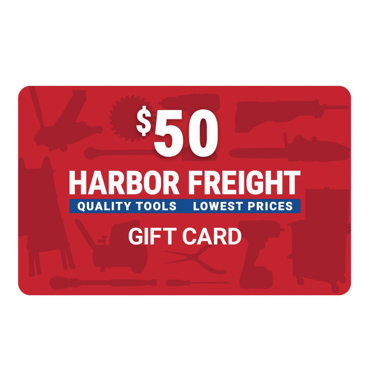 Harbor Freight Tools Trademarks that appear on this site are owned by Harbor Freight Tools and not by CardCash. Harbor Freight Tools is not a participating partner or sponsor in this offer and CardCash does not issue gift cards on behalf of Harbor Freight Tools.
