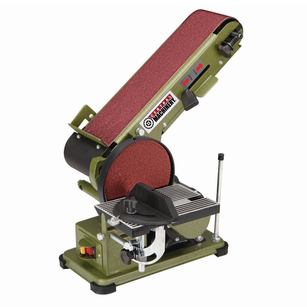 Combination 4 X 36 Belt 6 Disc Sander