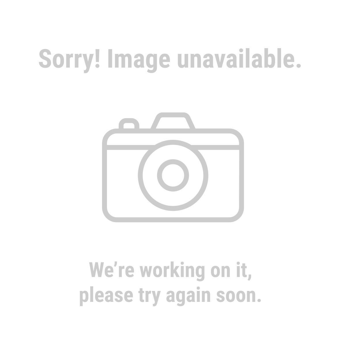 HFT 93670 50 Ft. 10 Gauge Triple Tap Extension Cord