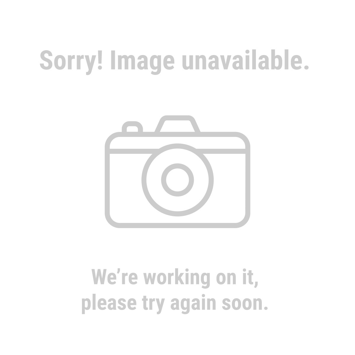 Chicago Electric 66495 25 Ft. 10 Gauge Triple Tap Extension Cord