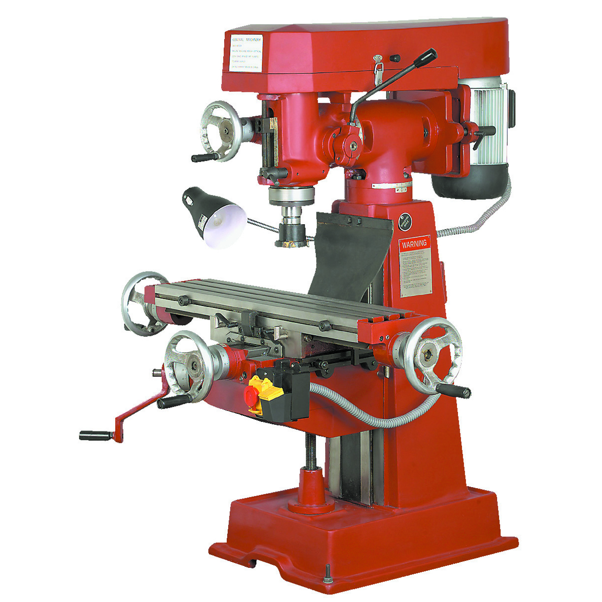 cnc machine mill