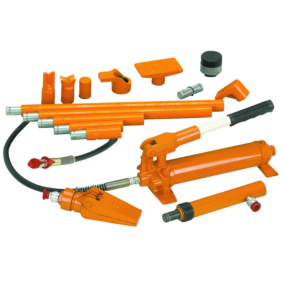 Image Of Meter 96308 Tool Central : Portable hydraulic body puller kit