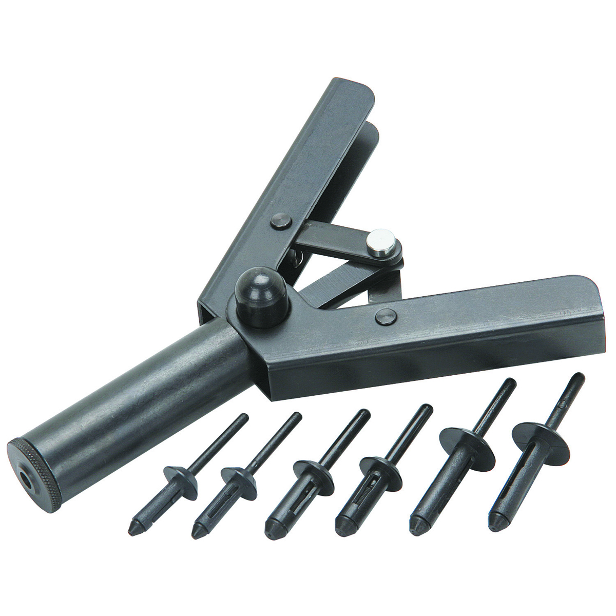 Hand Riveter with 40 Industrial Strength Poly Rivets