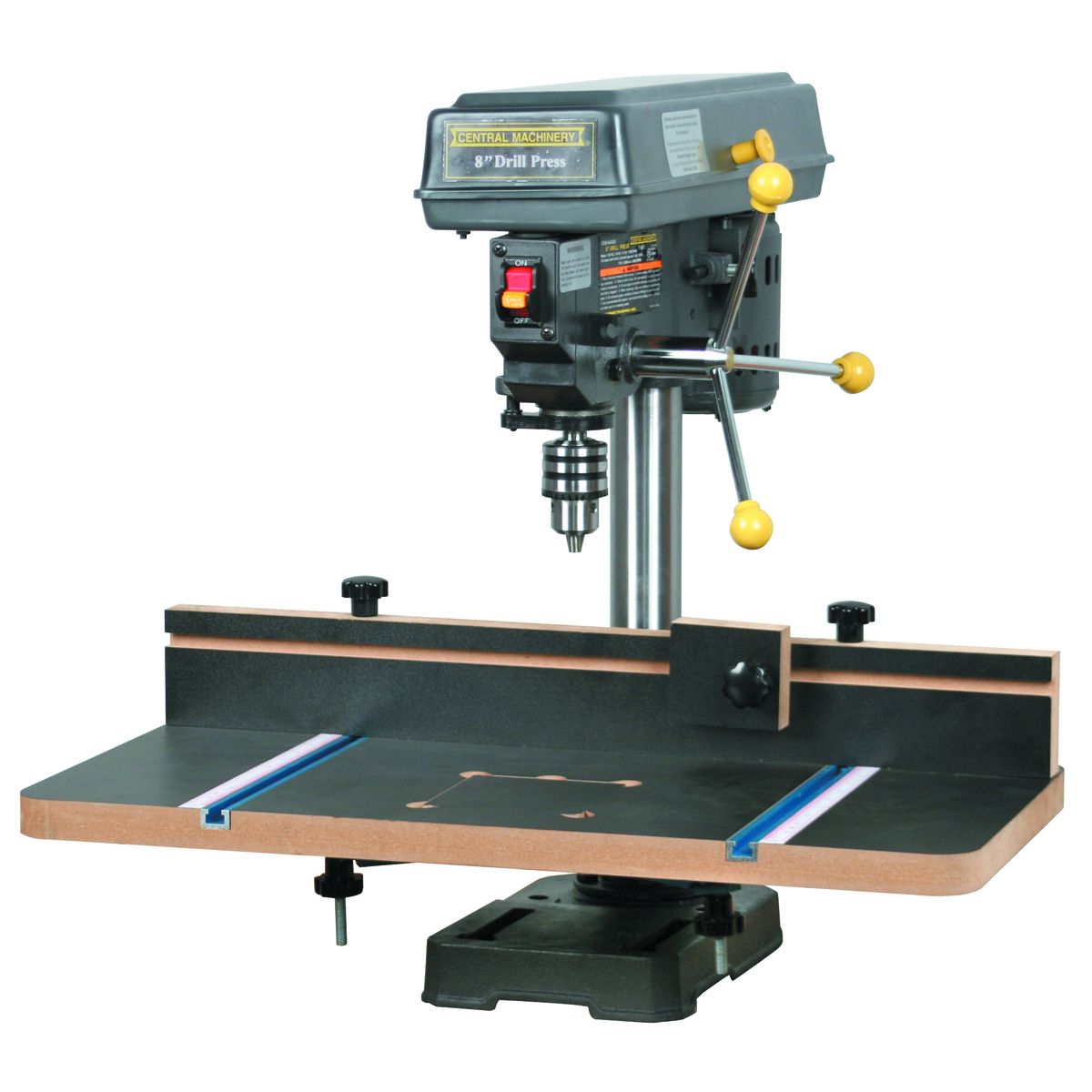 Drill Press Table With Fence