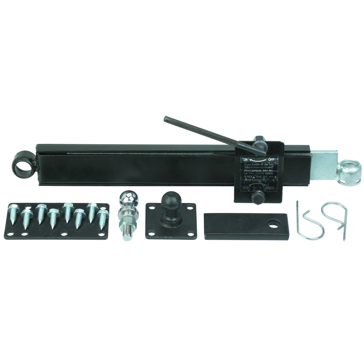 Stabilizer Bars For Travel Trailers : Trailer sway control kit