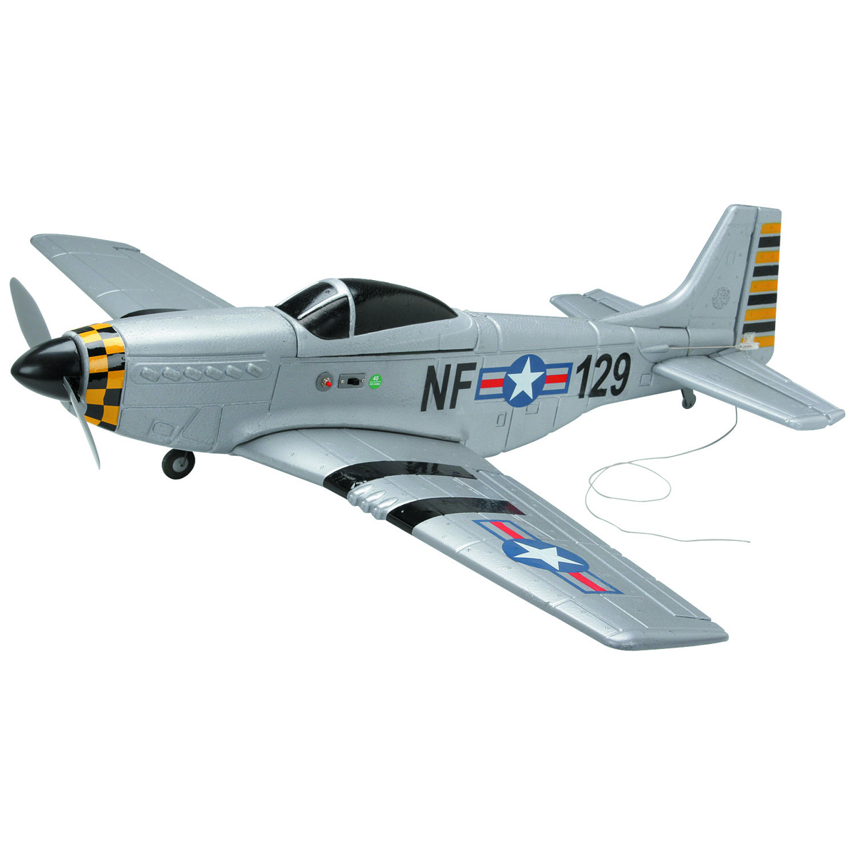 Radio Controlled P51 Mustang Airplane