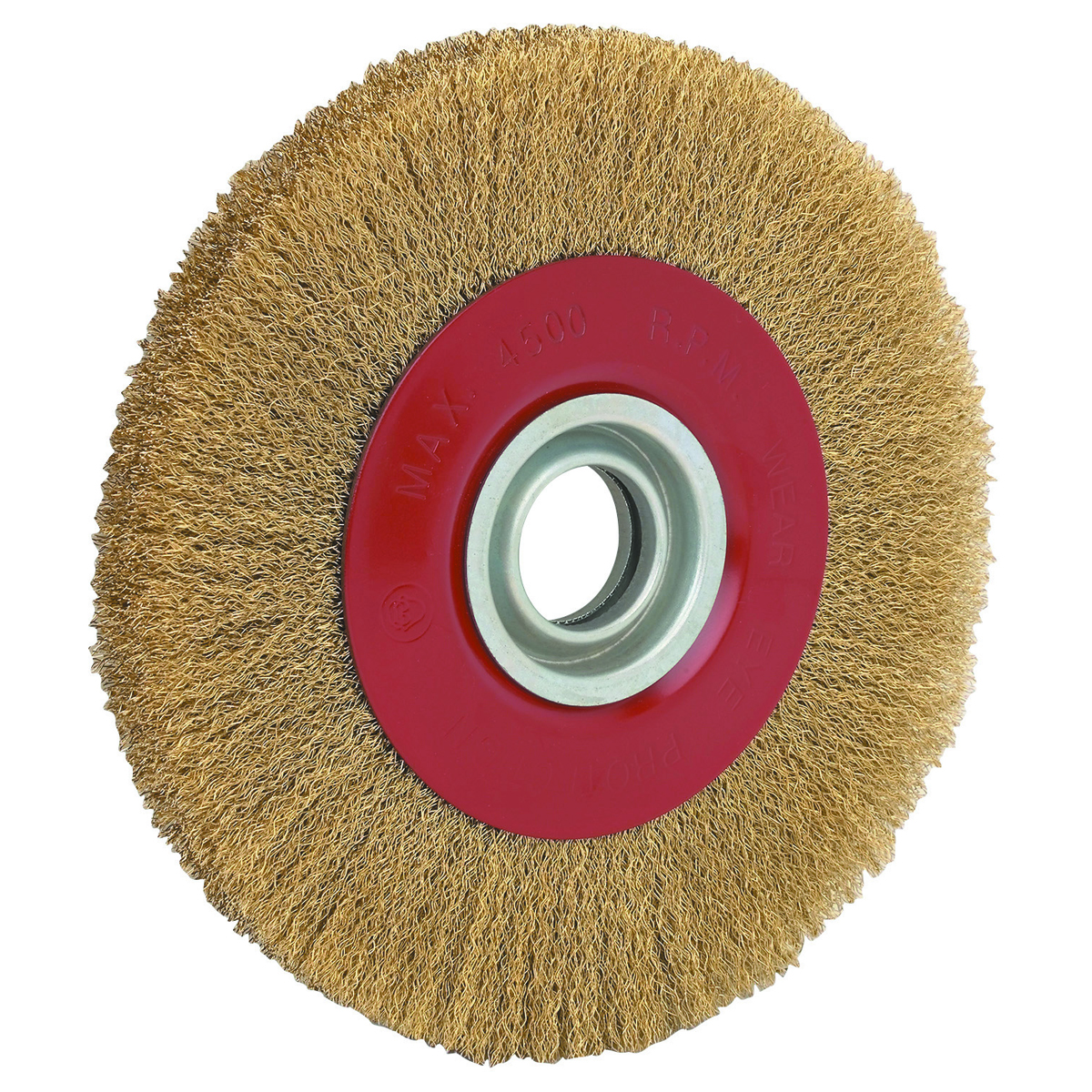 8 Quot Crimped Brass Wire Wheel