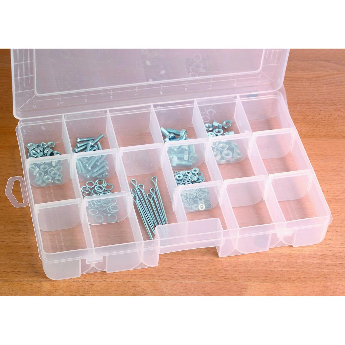 18 Compartment Medium Storage Container