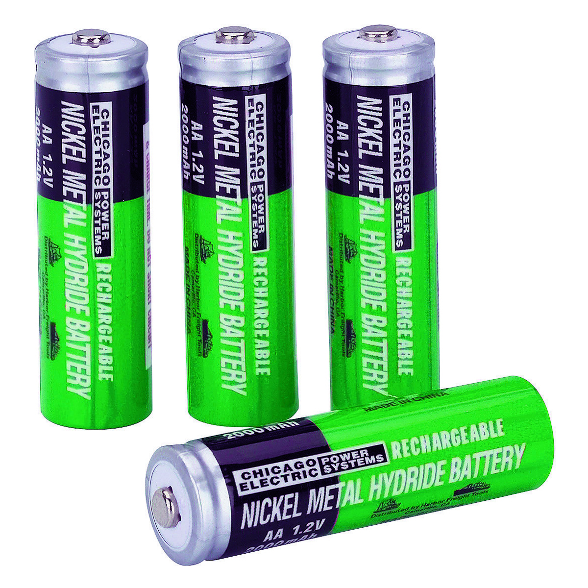 pack of 4 nimh rechargeable aa batteries. Black Bedroom Furniture Sets. Home Design Ideas