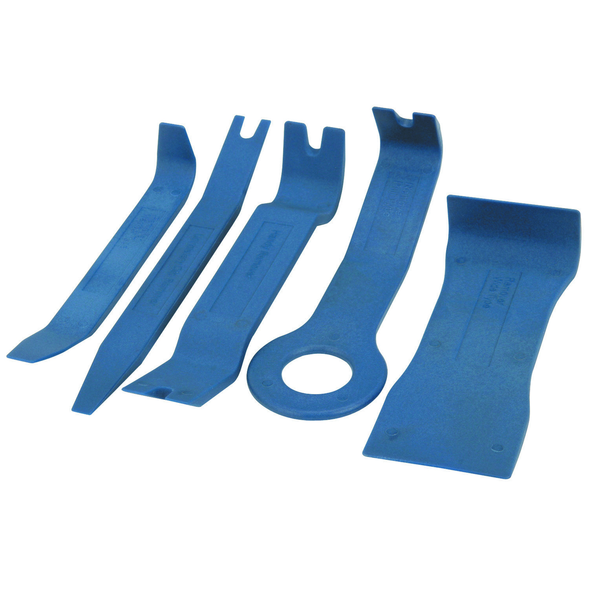 5 piece auto trim and molding tool set