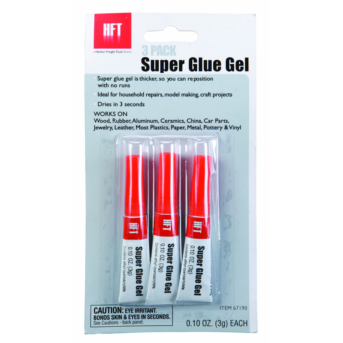 super glue gel 3 pack. Black Bedroom Furniture Sets. Home Design Ideas