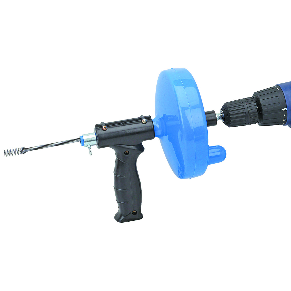 25 Ft Drain Cleaner With Drill Attachment